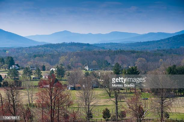 Shenandoah Valley on clear day