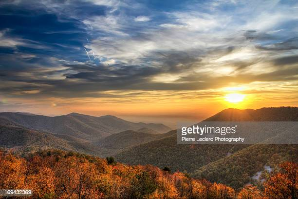 Shenandoah, Virginia sunset