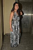 Shenaz Treasurywala at premiere of the movie Ugly in Mumbai