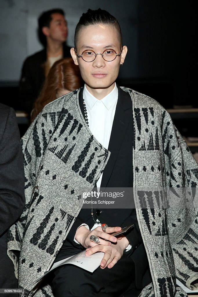 Shengyu Wang attends Taoray Wang fashion show during Fall 2016 New York Fashion Week: The Shows at The Dock, Skylight at Moynihan Station on February 13, 2016 in New York City.