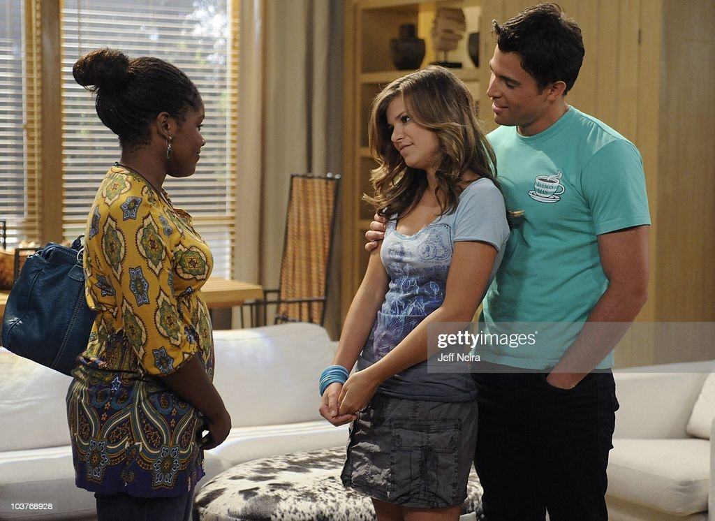 LIVE - Shennell Edmonds (Destiny), Kelley Missal (Danielle) and Lenny Platt (Nate) in a scene that begins airing the week of August 30, 2010 on ABC Daytime's 'One Life to Live.' 'One Life to Live' airs Monday-Friday (2:00 p.m. - 3:00 p.m., ET) on the ABC Television Network. OLTL10 (Photo by Jeff Neira/ABC via Getty Images) SHENNELL