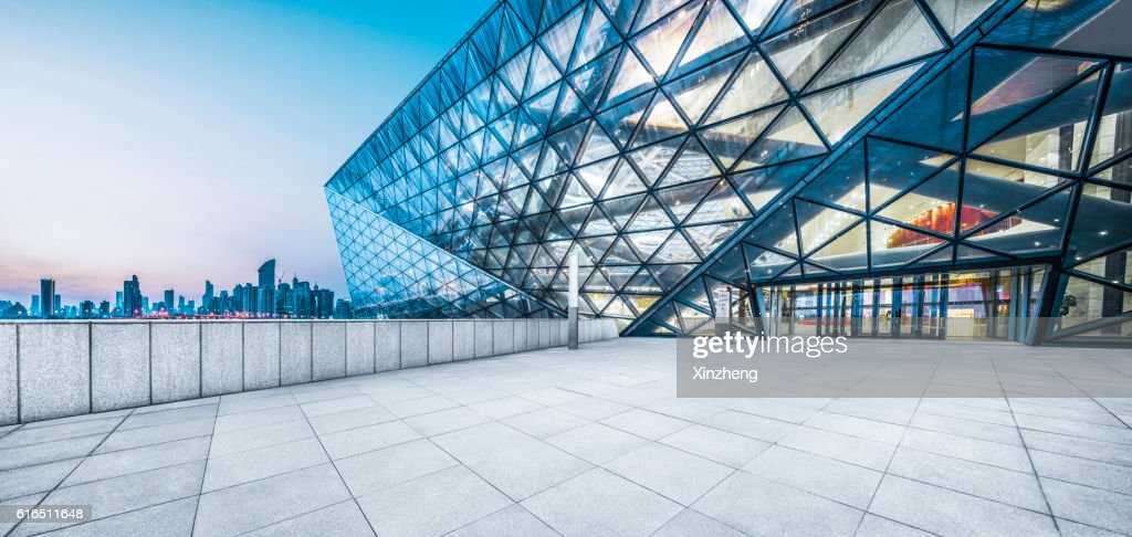 Shenyang Poly Grand Theatre Night View : Stock Photo