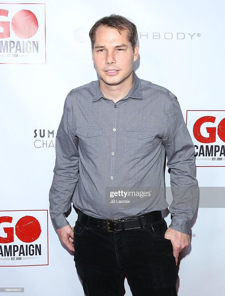 <a gi-track='captionPersonalityLinkClicked' href=/galleries/search?phrase=Shepard+Fairey&family=editorial&specificpeople=2155817 ng-click='$event.stopPropagation()'>Shepard Fairey</a> attends the 6th Annual GO GO Gala at Bel Air Bay Club on November 14, 2013 in Pacific Palisades, California.