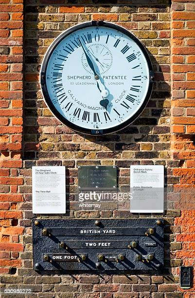Shepherd 24-Hour Gate Clock at Greenwich