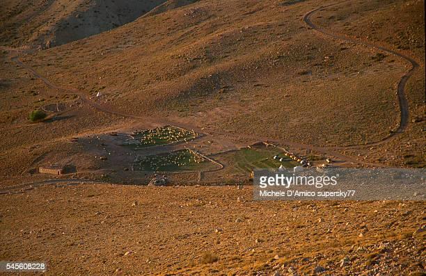 Shepherd campsite in the Ala Daglar.