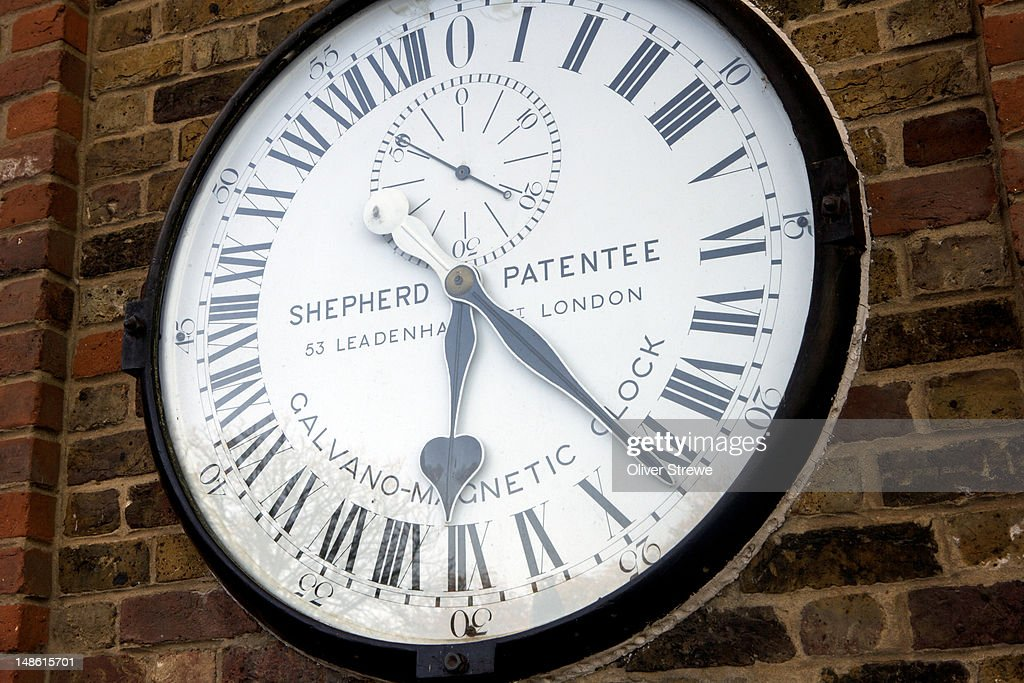 Shepherd Gate Clock at Royal Greenwich Observatory.