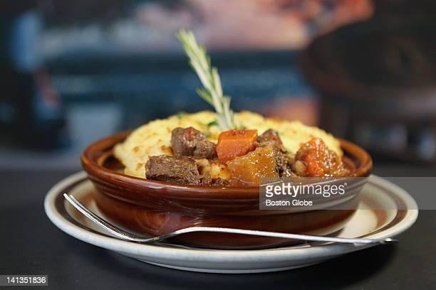 Shepherd's pie is a favorite at Matt Murphy's in Brookline photographed Friday March 9 2012