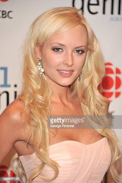 Shera Bechard attends the 31st Annual Genie Awards Gala at the National Arts Centre on March 10 2011 in Ottawa Canada