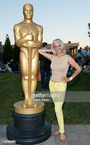 Shera Danese attends The Academy Of Motion Picture Arts And Sciences' Oscars Outdoors Screening Of 'Risky Business' on July 17 2013 in Hollywood...