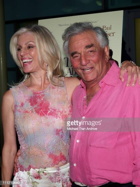Shera Denise and Peter Falk during 'The Thing About My Folks' Los Angeles Premiere Arrivals at ArcLight Theaters in Los Angeles California United...