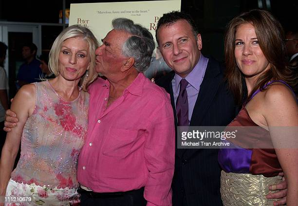 Shera Denise Peter Falk Paul Reiser and Paula Reiser