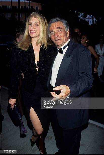 Shera Falk and Peter Falk circa 1995 in New York City