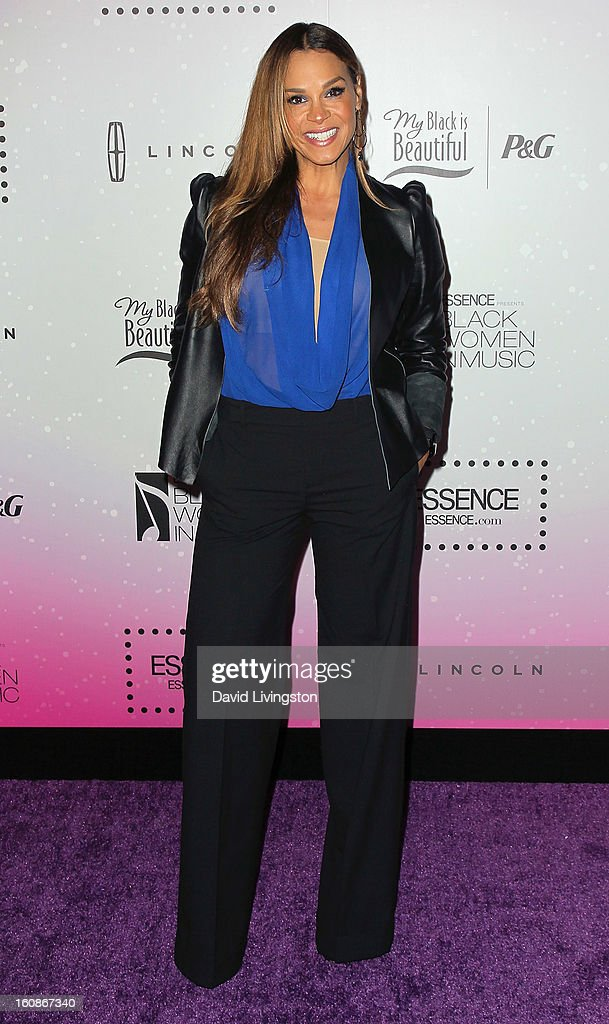 Sheree Fletcher attends the 4th Annual ESSENCE Black Women In Music honoring Lianne La Havas and Solange Knowles at Greystone Manor Supperclub on February 6, 2013 in West Hollywood, California.