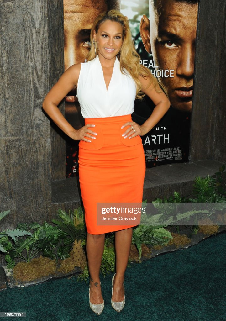 Sheree Fletcher attends the 'After Earth' premiere at Ziegfeld Theater on May 29, 2013 in New York City.
