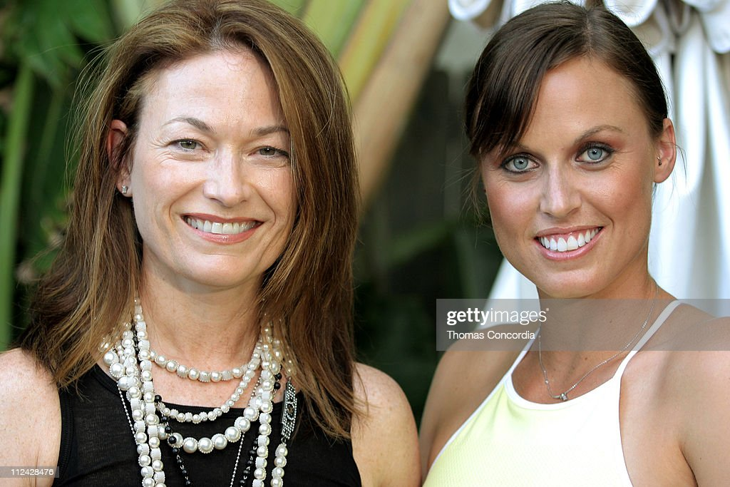 Sheree Waterson, President of Speedo North America with Amanda Beard