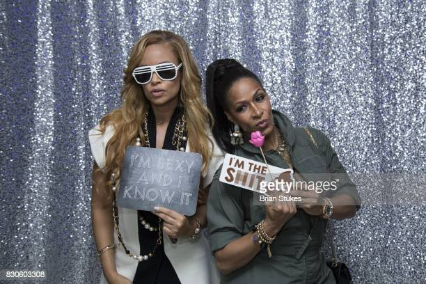 Sheree Whitfield and Gizelle Bryant attend 'Cupcakes With Sheree DC' Meet Greet Affair and book signing for 'Wives Fiancees and SideChicks of...