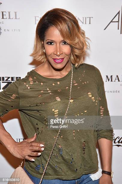 Sheree Whitfield attends 'The Art Of Organized Noize' Private Screening at SCADshow on March 18 2016 in Atlanta Georgia