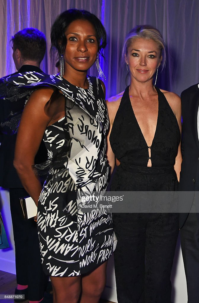 Sherett Dahlstrom (L) and <a gi-track='captionPersonalityLinkClicked' href=/galleries/search?phrase=Tamara+Beckwith&family=editorial&specificpeople=201578 ng-click='$event.stopPropagation()'>Tamara Beckwith</a> attend the Summer Gala for The Old Vic at The Brewery on June 27, 2016 in London, England.