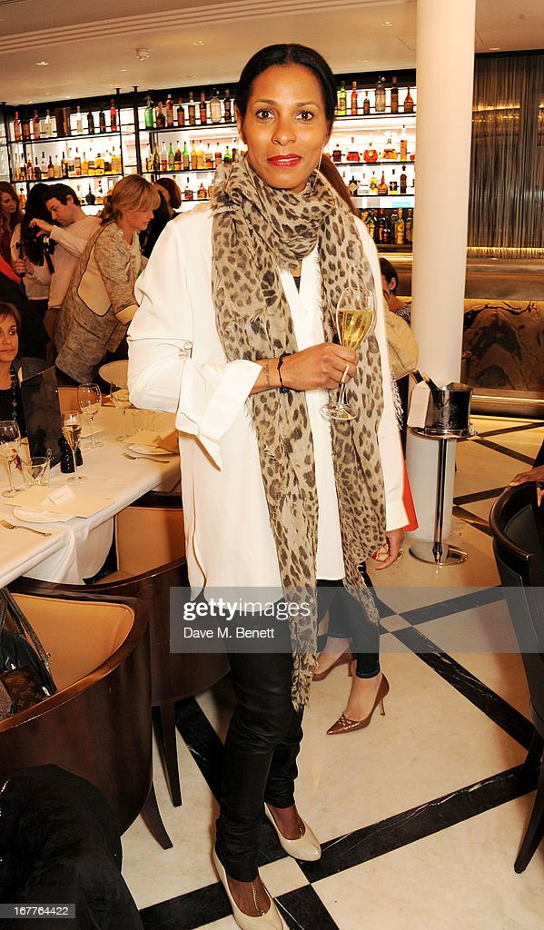 Sherette Dahlstrom attends the launch of Cash & Rocket, in aid of the (Red) Rush to Zero campaign, at Banca Restaurant on April 29, 2013 in London, England.