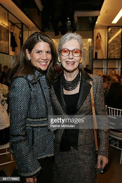 Sheri Babbio and Barbara Tober attend The Camellia Luncheon Sponsored by Chanel to benefit The New York Botanical Garden at Chanel on October 25 2005...