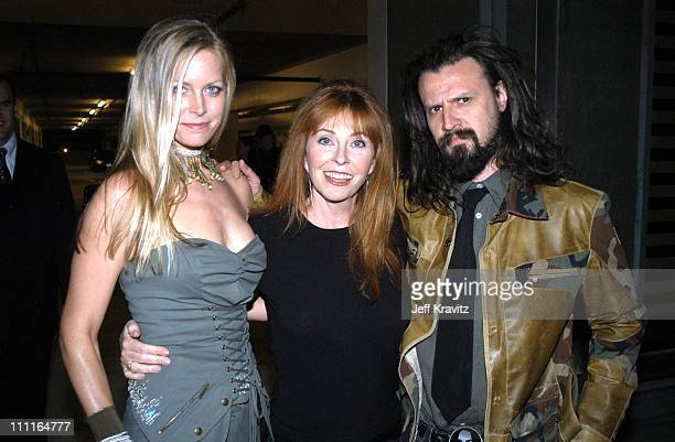 Sheri Moon Cassandra Peterson and Rob Zombie during LionsGate Films' 'House of 1000 Corpses' Premiere at ArcLight Cinemas in Hollywood CA United...