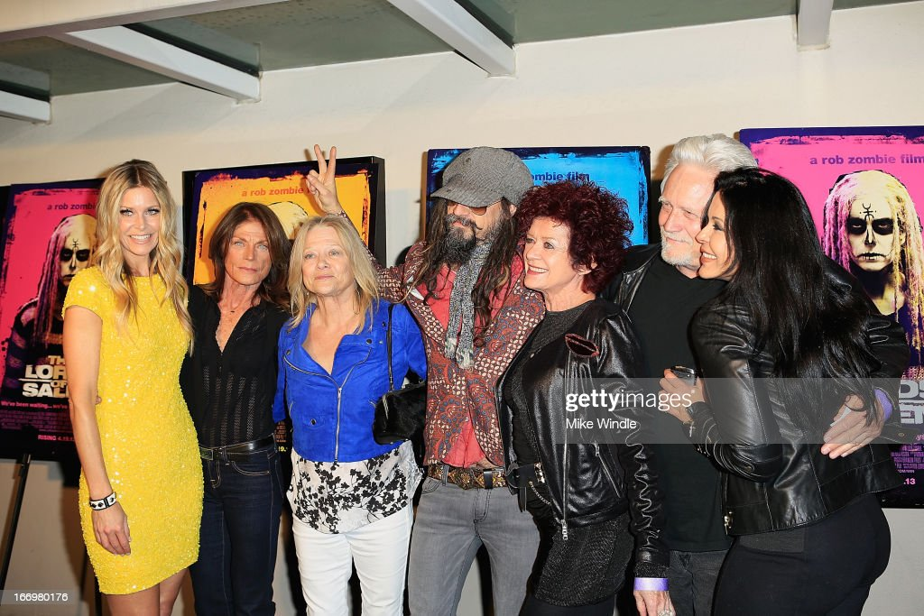 <a gi-track='captionPersonalityLinkClicked' href=/galleries/search?phrase=Sheri+Moon&family=editorial&specificpeople=2360728 ng-click='$event.stopPropagation()'>Sheri Moon</a> Zombie, Meg Foster, Judy Geeson, <a gi-track='captionPersonalityLinkClicked' href=/galleries/search?phrase=Rob+Zombie&family=editorial&specificpeople=217722 ng-click='$event.stopPropagation()'>Rob Zombie</a>, Patricia Quinn, <a gi-track='captionPersonalityLinkClicked' href=/galleries/search?phrase=Bruce+Davison&family=editorial&specificpeople=682670 ng-click='$event.stopPropagation()'>Bruce Davison</a> and Maria Conchita Alonso arrive at <a gi-track='captionPersonalityLinkClicked' href=/galleries/search?phrase=Rob+Zombie&family=editorial&specificpeople=217722 ng-click='$event.stopPropagation()'>Rob Zombie</a>'s 'The Lords Of Salem' Los Angeles premiere at AMC Burbank 16 on April 18, 2013 in Burbank, California.