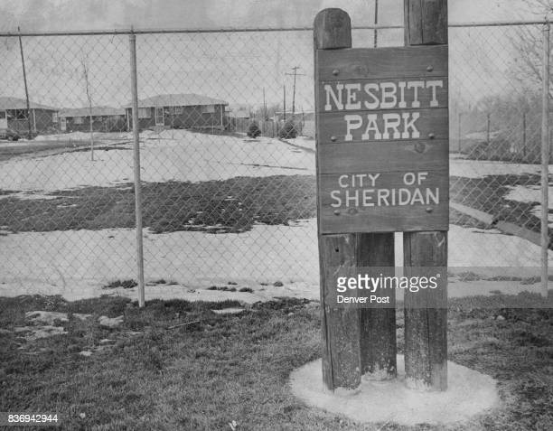 Sheridan Has a New 'Mini Park' Named for longtime Sheridan resident Maurice Nesbitt the park is located at W Mansfield Ave and S Federal Blvd It will...