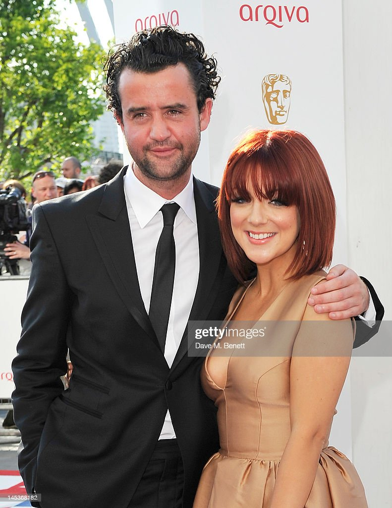 <a gi-track='captionPersonalityLinkClicked' href=/galleries/search?phrase=Sheridan+Smith&family=editorial&specificpeople=4159304 ng-click='$event.stopPropagation()'>Sheridan Smith</a> (R) arrives at the Arqiva British Academy Television Awards 2012 at Royal Festival Hall on May 27, 2012 in London, England.