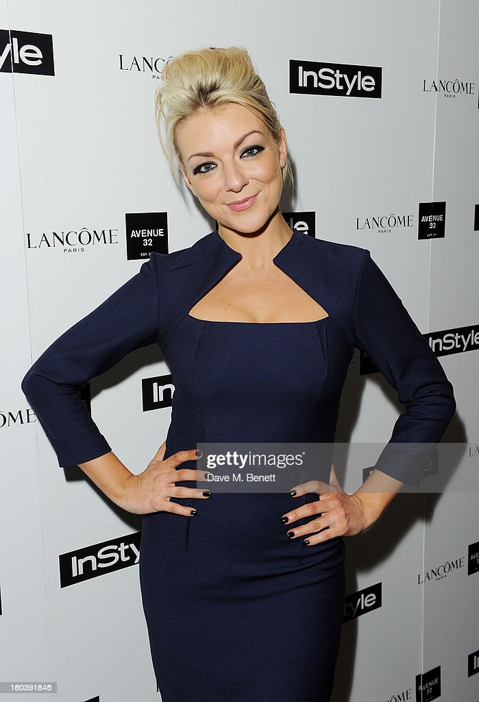 Sheridan Smith arrives at the InStyle Best Of British Talent party in association with Lancome and Avenue 32 at Shoreditch House on January 30, 2013 in London, England.