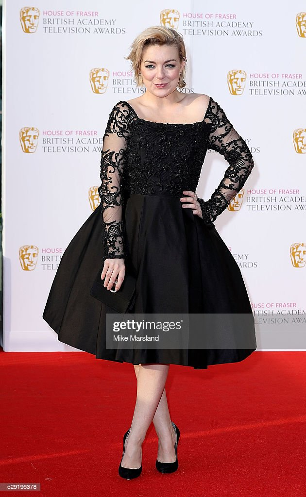 <a gi-track='captionPersonalityLinkClicked' href=/galleries/search?phrase=Sheridan+Smith&family=editorial&specificpeople=4159304 ng-click='$event.stopPropagation()'>Sheridan Smith</a> arrives for the House Of Fraser British Academy Television Awards 2016 at the Royal Festival Hall on May 8, 2016 in London, England.