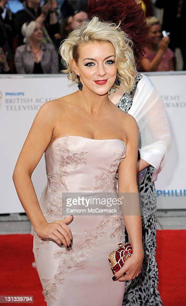 Sheridan Smith arrives on the Red Carpet for The Philips British Academy Television Awards at Grosvenor House on May 22 2011 in London England