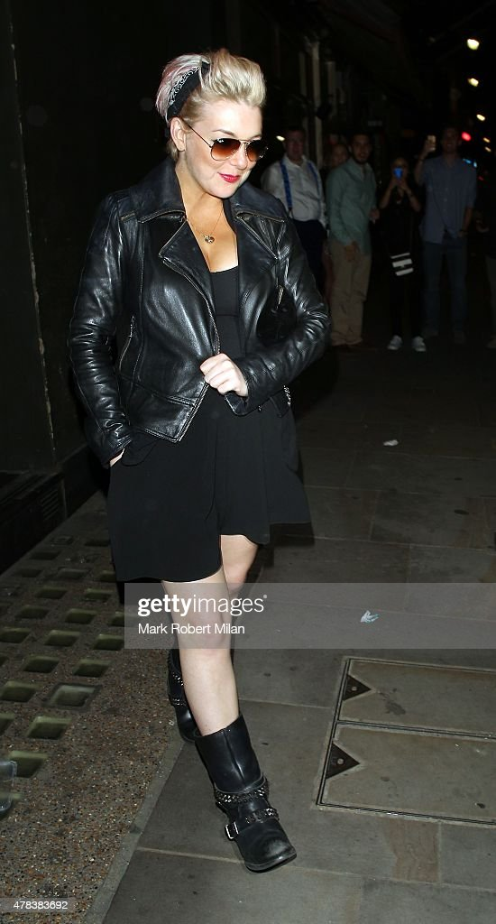 Sheridan Smith at the Century Club on June 24 2015 in London England