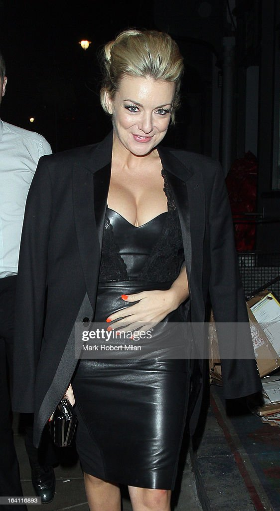 Sheridan Smith at the Groucho club on March 19, 2013 in London, England.