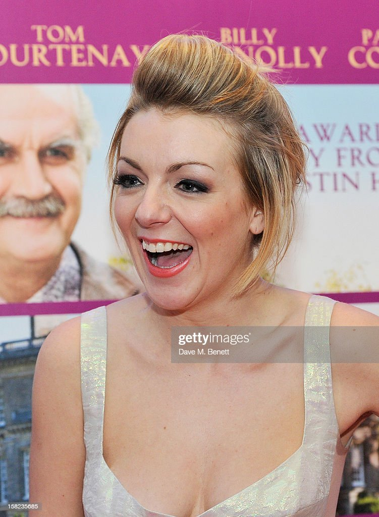 Sheridan Smith attends a Gala Screening of 'Quartet' at Odeon West End on December 11, 2012 in London, England.