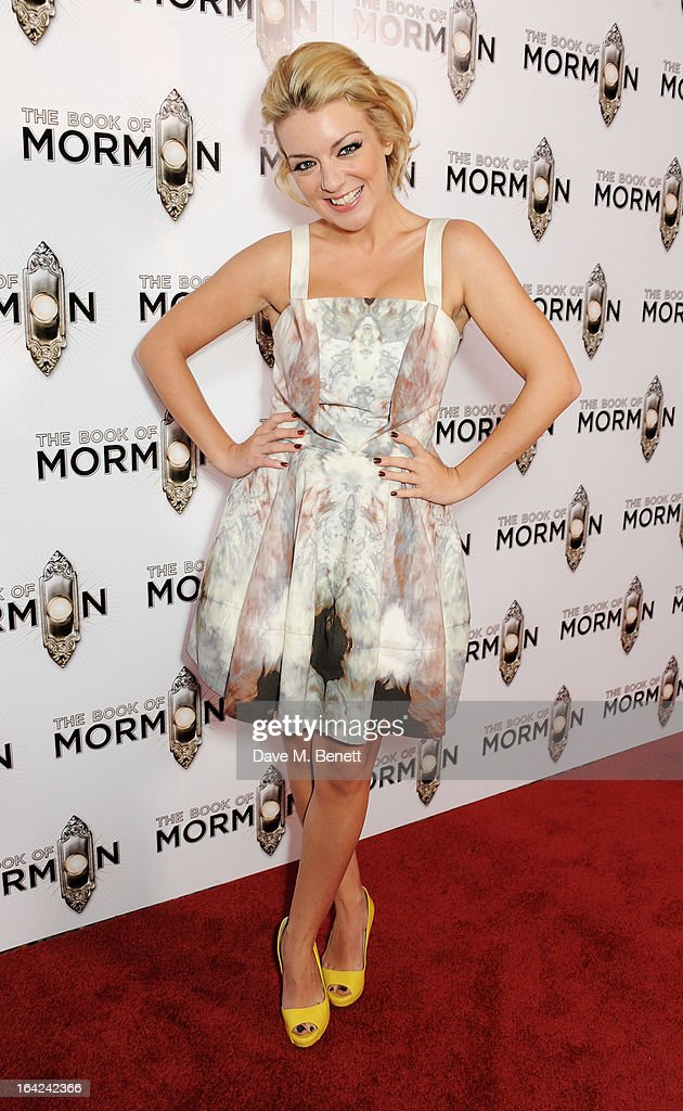 Sheridan Smith attends an after party following the press night performance of 'The Book of Mormon' at the Natural History Museum on March 21, 2013 in London, England.