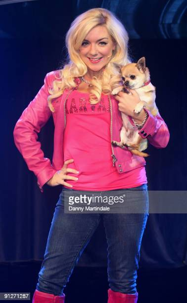 Sheridan Smith attends launch photocall for Legally Blonde The Musical at Cafe de Paris on September 30 2009 in London England