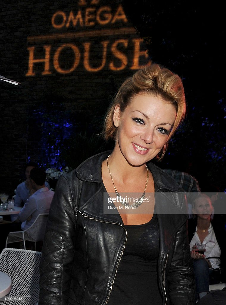 Sheridan Smith attends 'Spotlight On Swimming' at OMEGA House, OMEGA's official residence during the London 2012 Olympic Games, at The House of St. Barnabas on August 7, 2012 in London, England.