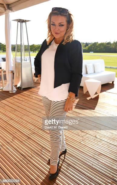 Sheridan Smith attends the Audi Polo Challenge at Coworth Park on May 7 2017 in Ascot United Kingdom