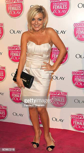 Sheridan Smith attends the Cosmopolitan Ultimate Women Of The Year Awards at Banqueting House on November 11 2009 in London England