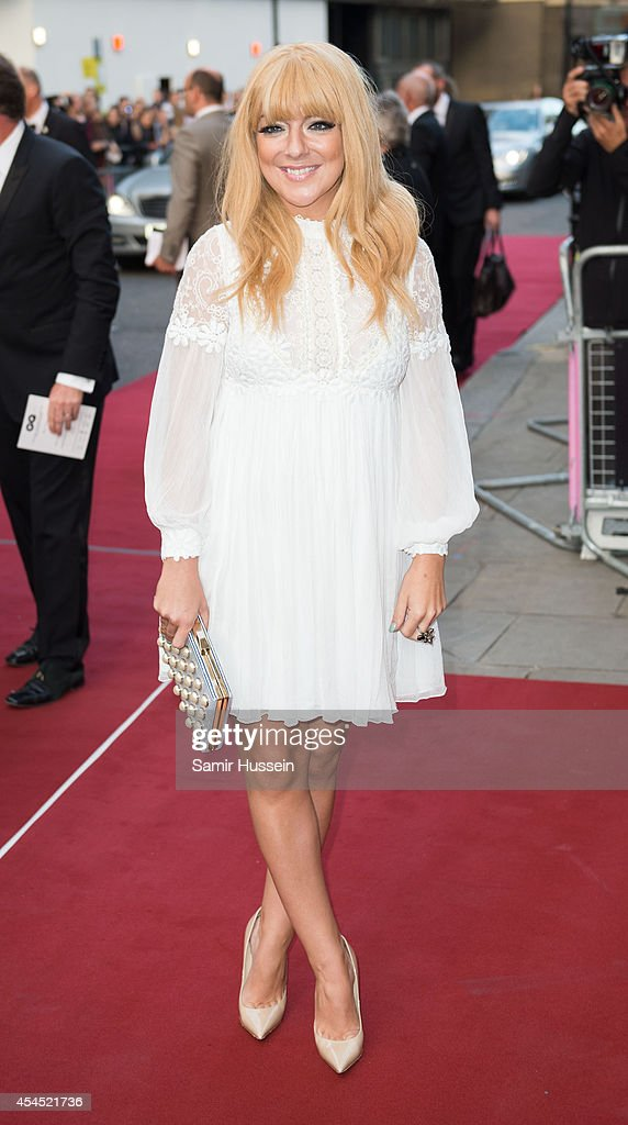 Sheridan Smith attends the GQ Men of the Year awards at The Royal Opera House on September 2, 2014 in London, England.
