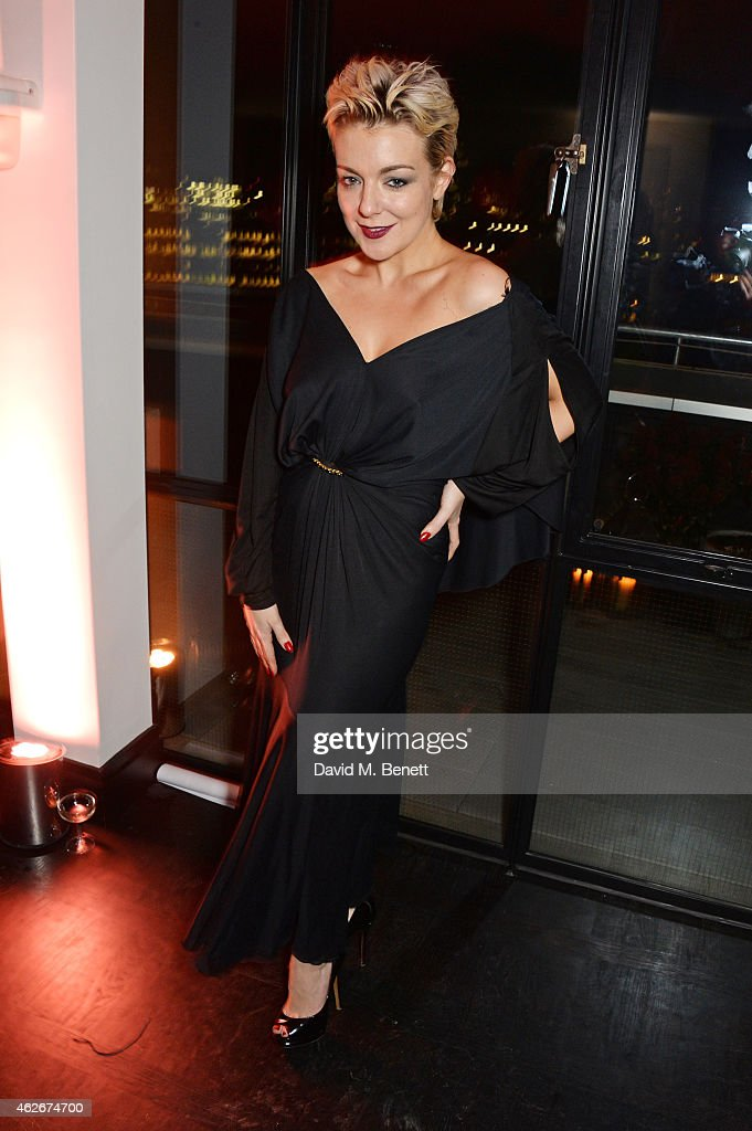 Sheridan Smith attends the InStyle and EE Rising Star Party in association with Lancome Karen Millen and Sky Living at The Ace Hotel on February 2...