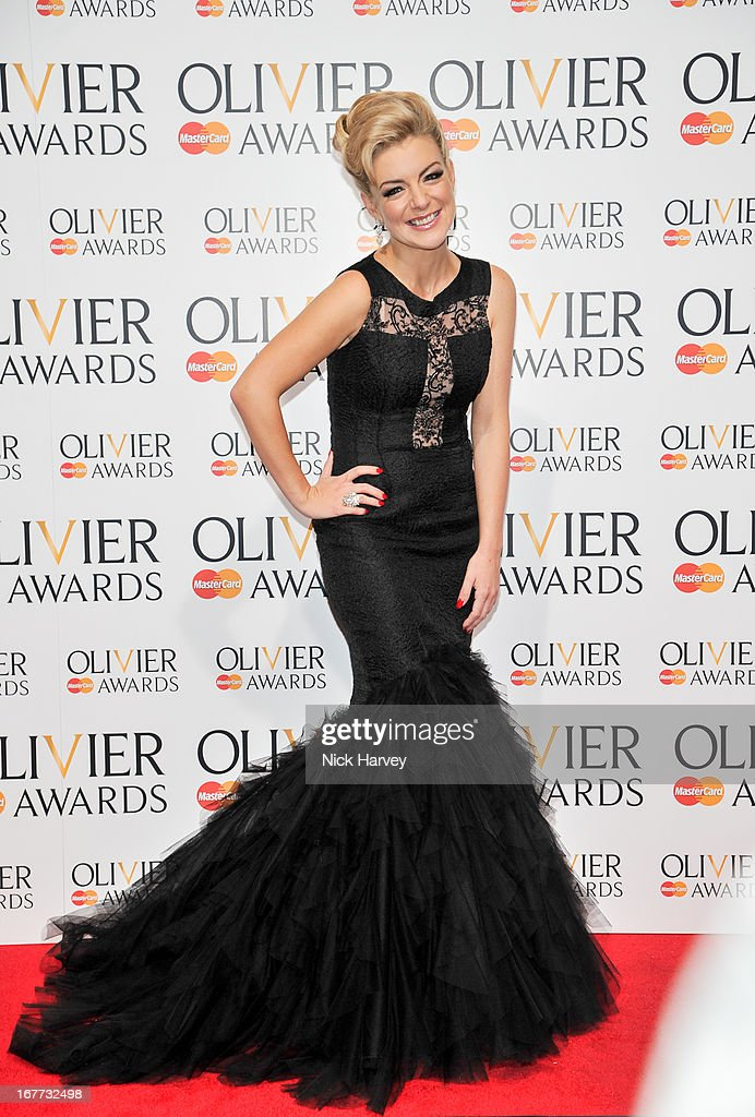 Sheridan Smith attends The Laurence Olivier Awards at The Royal Opera House on April 28, 2013 in London, England.