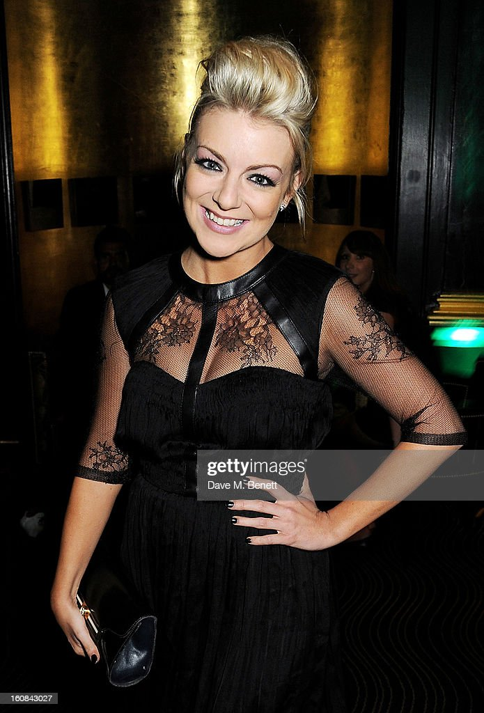 Sheridan Smith attends the Pre-BAFTA Party hosted by EE and Esquire ahead of the 2013 EE British Academy Film Awards at The Savoy Hotel on February 6, 2013 in London, England.
