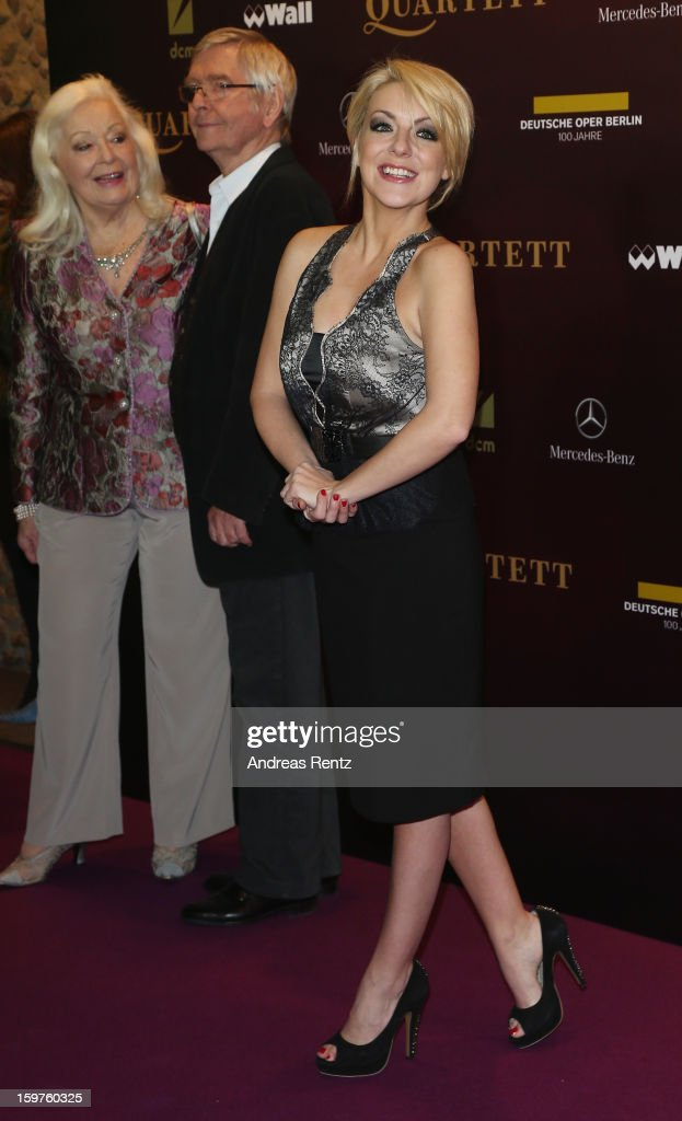 Sheridan Smith attends the premiere of 'Quartet' at Deutsche Oper on January 20, 2013 in Berlin, Germany.