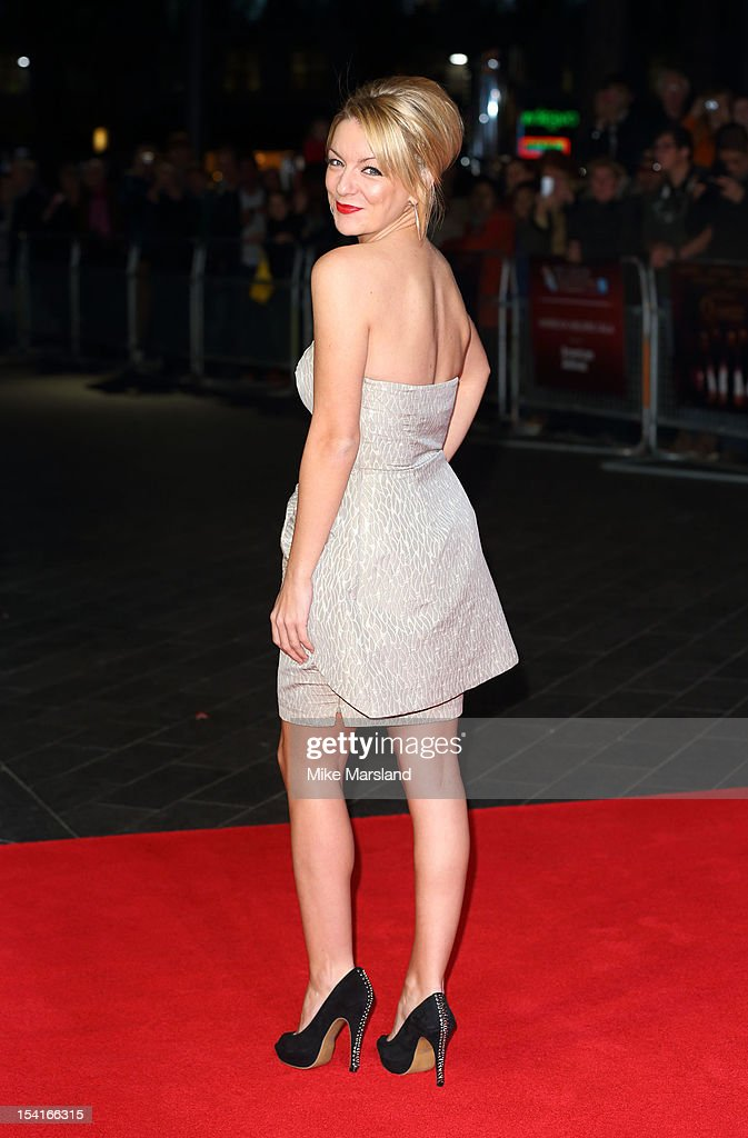 Sheridan Smith attends the Premiere of 'Quartet' during the 56th BFI London Film Festival at Odeon Leicester Square on October 15, 2012 in London, England.