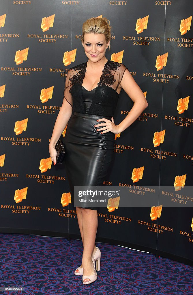 Sheridan Smith attends the RTS Programme Awards at Grosvenor House, on March 19, 2013 in London, England.