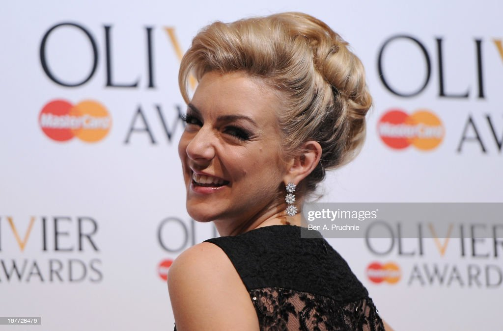 <a gi-track='captionPersonalityLinkClicked' href=/galleries/search?phrase=Sheridan+Smith&family=editorial&specificpeople=4159304 ng-click='$event.stopPropagation()'>Sheridan Smith</a> during The Laurence Olivier Awards at the Royal Opera House on April 28, 2013 in London, England.