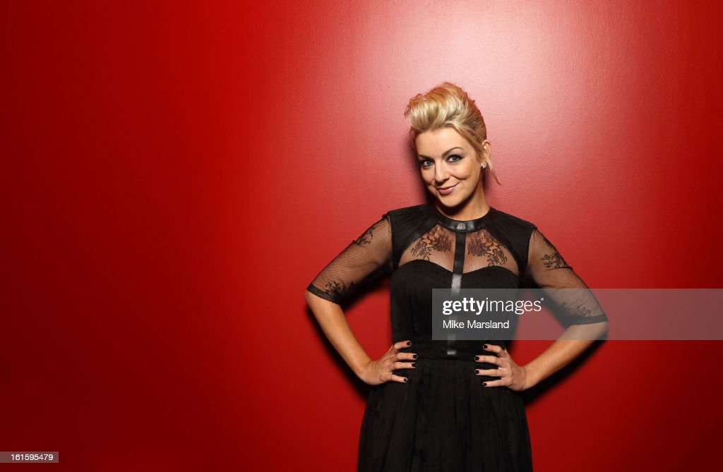 Sheridan Smith poses in the portrait studio at the PreBafta party hosted by EE and Esquire ahead of the 2013 EE British Academy Film Awards at The...