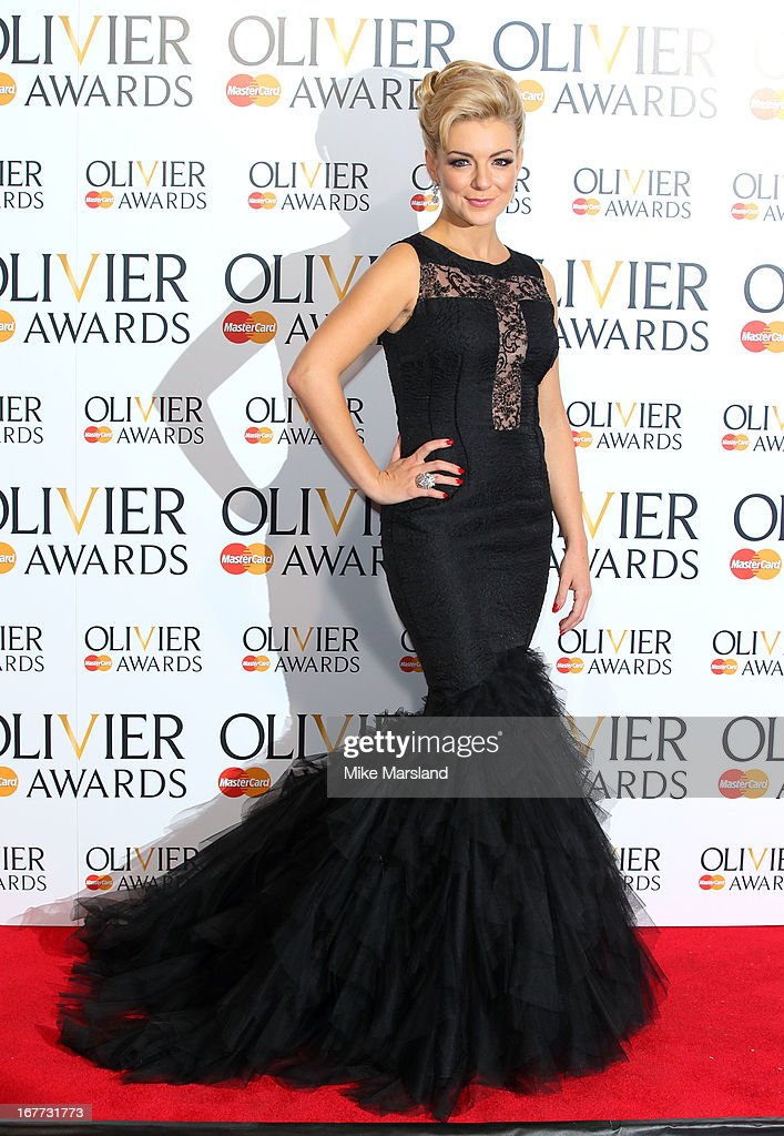 Sheridan Smith poses in the press room at The Laurence Olivier Awards at The Royal Opera House on April 28, 2013 in London, England.