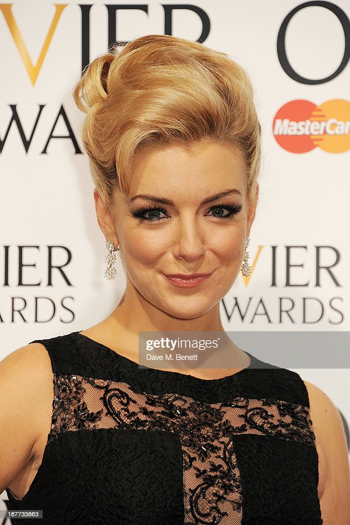 Sheridan Smith poses in the press room at The Laurence Olivier Awards 2013 at The Royal Opera House on April 28, 2013 in London, England.